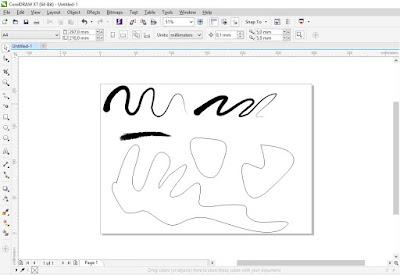 Review Pen Tablet Huion H640P di corel draw