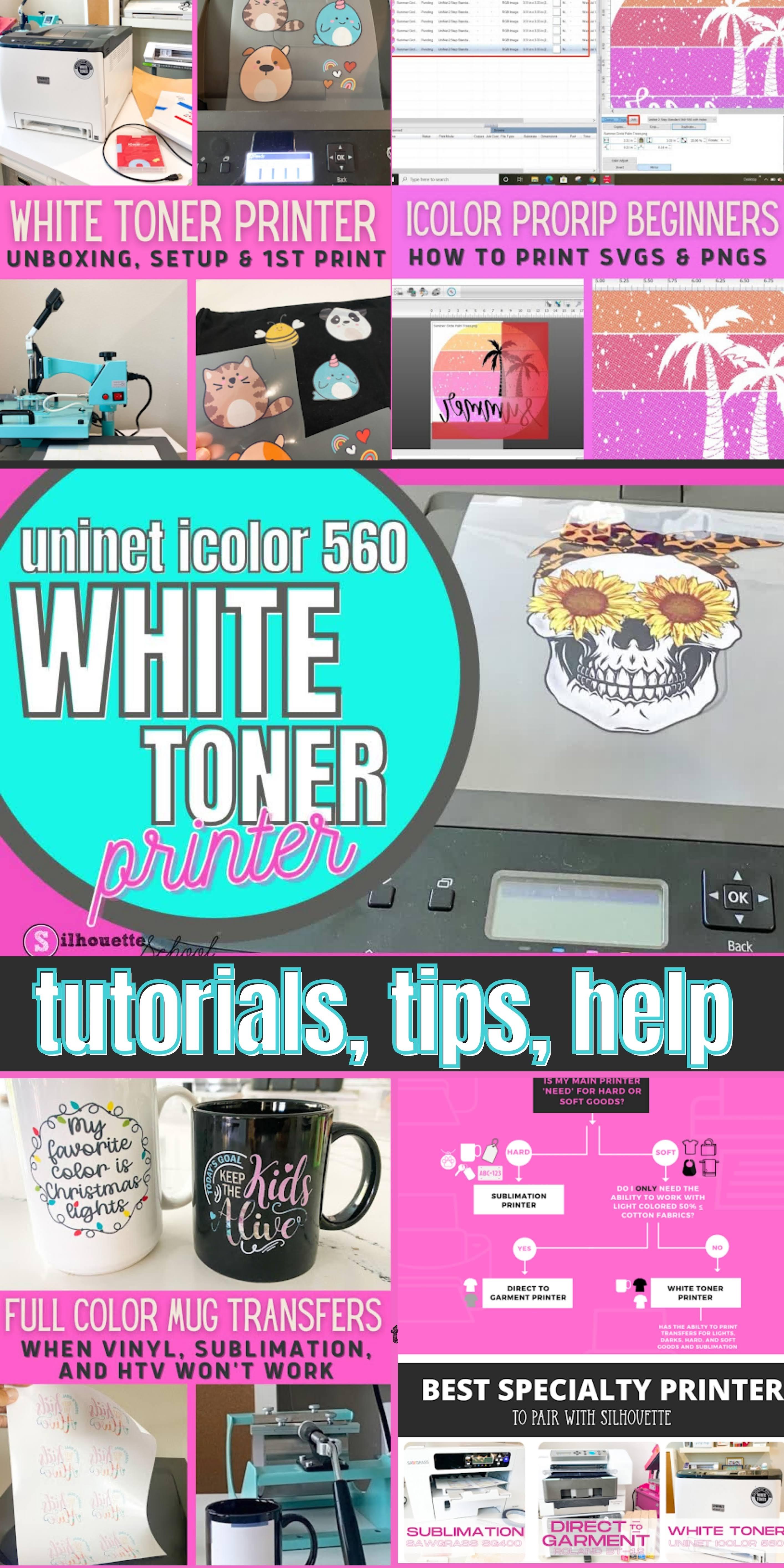 Uninet iColor 560 printer tutorials
