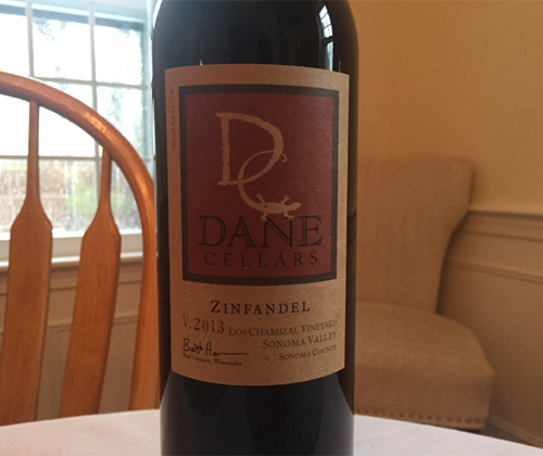 Dane Cellars Los Chamizal Vineyard Zinfandel 2013