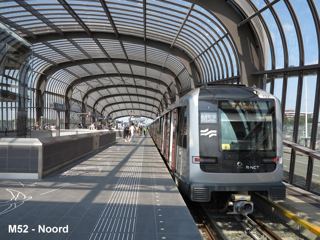 Robert Schwandl's Urban Rail Blog: AMSTERDAM Noord/Zuidlijn