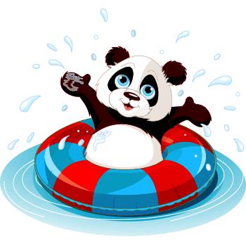 Pool Time Panda