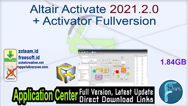 Altair Activate 2021.2.0 + Activator Fullversion
