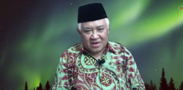 Din Syamsuddin: KAMI Menanti Tanggapan, Bukan Pengalihan Dengan Menggerakkan Buzzer Bayaran