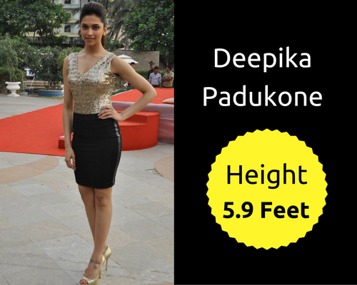 Check Out The Actual Height Of Popular Bollywood Celebs-1