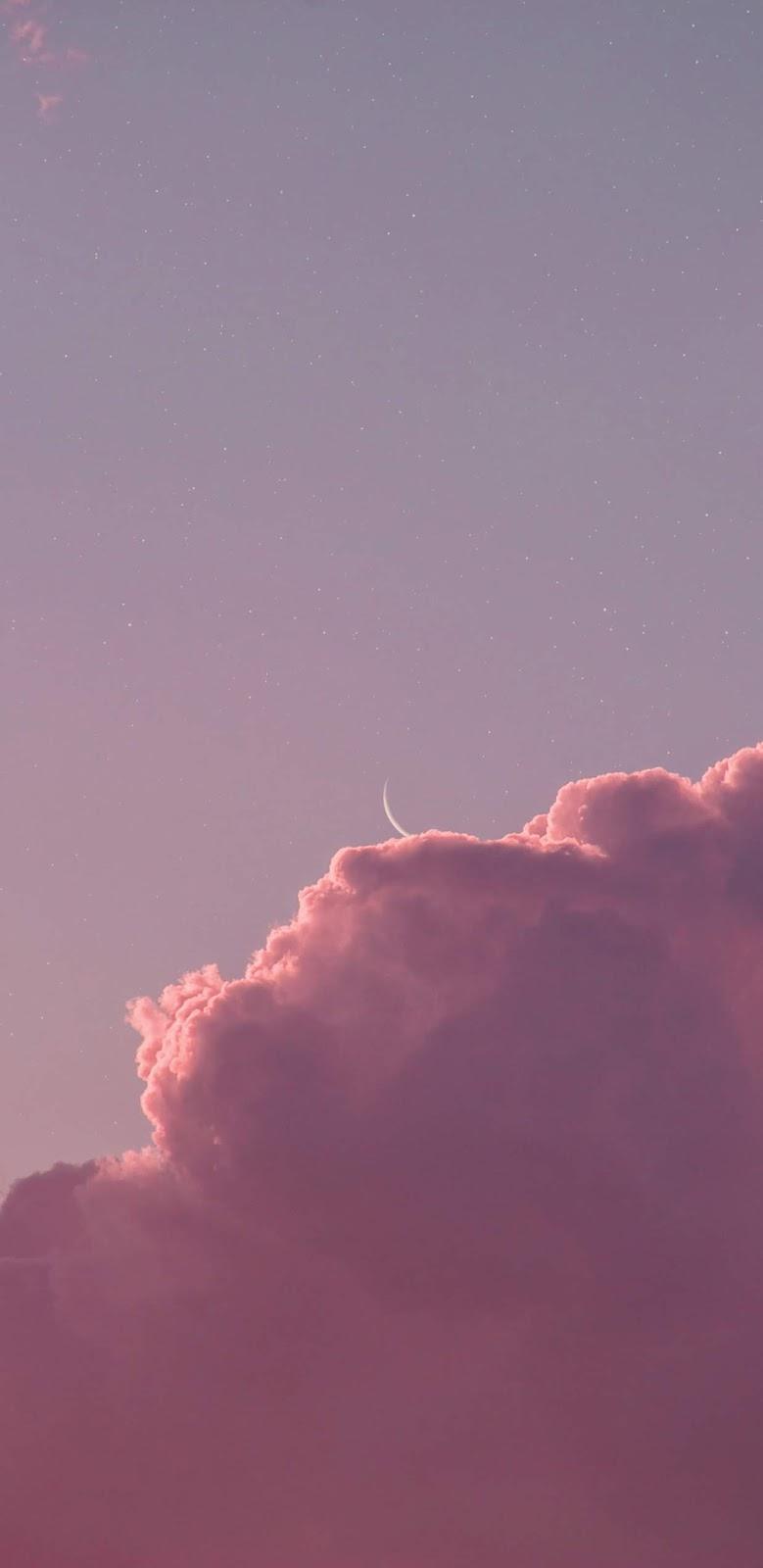 Pink cloud pink sky