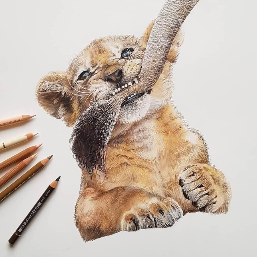 04-Sweet-Lion-cub-Paula-www-designstack-co