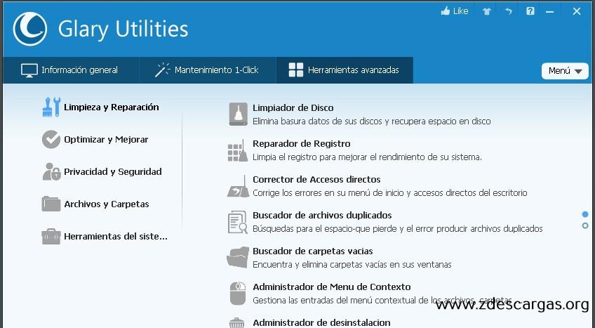 Glary Utilities Pro Full Español