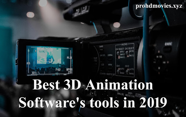 Best 3D Animation Software's tools in 2019