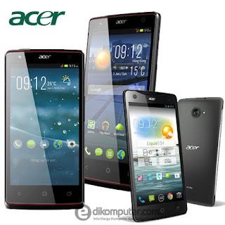 Daftar Harga Smartphone Acer Bulan Juni 2017