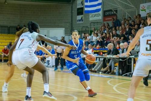 ΕΟΚ |  Εθνική Γυναικών | Βέλγιο – Ελλάδα 86-72 (2ος φιλικός αγώνας προετοιμασίας)