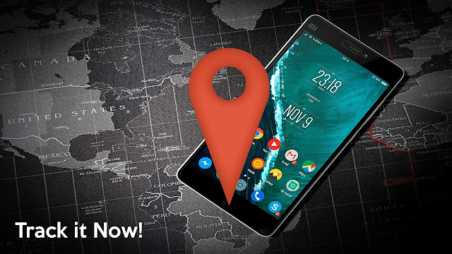 Find Lost Phone Using Google