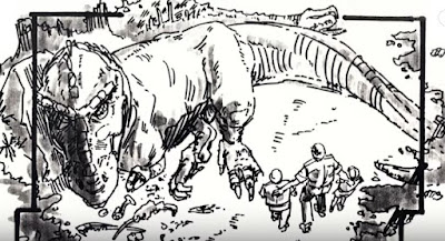 Jurassic Park - Tyrannosaurus Rex At The Lagoon