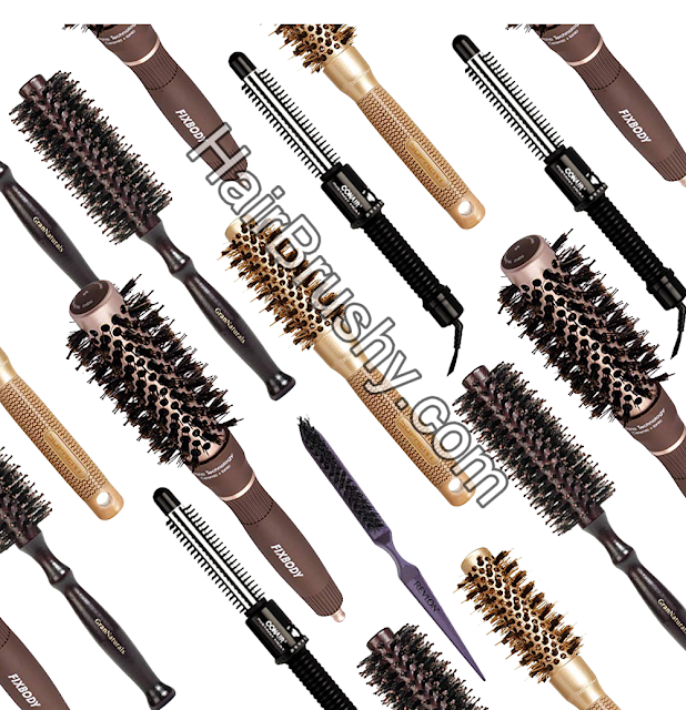 Best round brush volume short hair