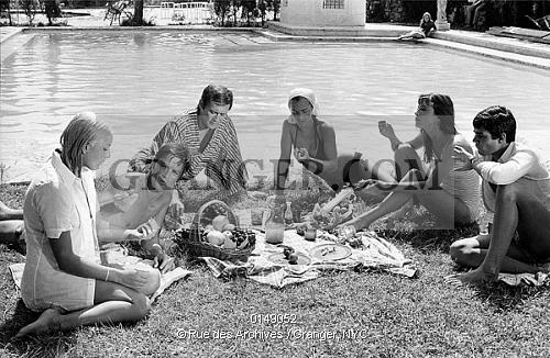Alain delon for La piscina 1969