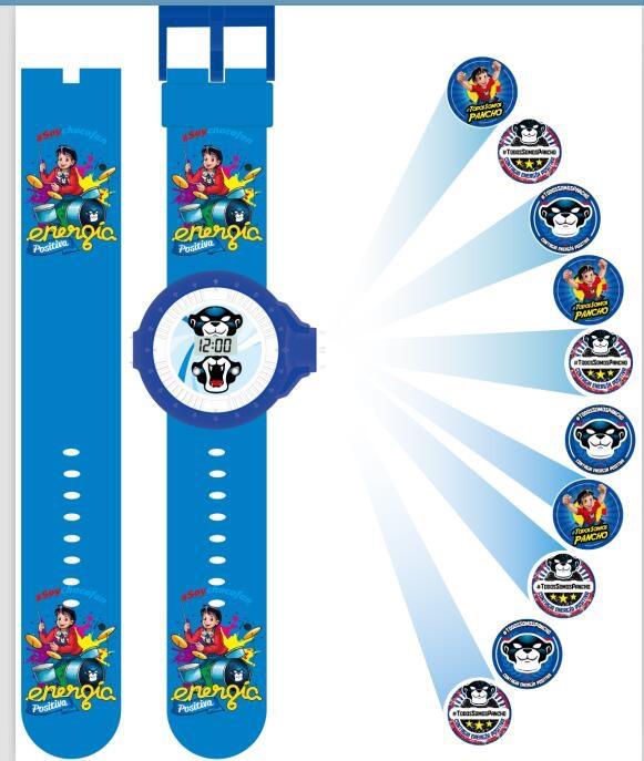 28k - Đồng hồ chiếu nhân vật hoạt hình cho bé giá sỉ và lẻ rẻ nhất