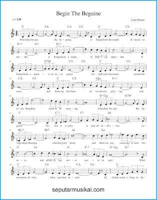 Begin The Beguine 1 chords jazz standar