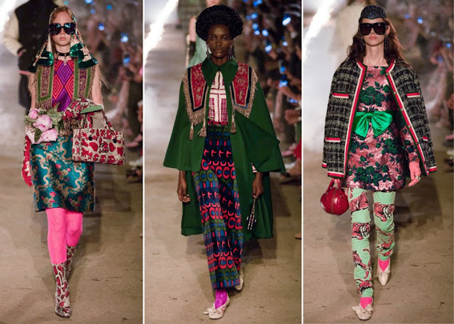 Three not-so-tasteful looks from Gucci