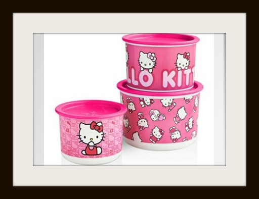 Tupperware Hello Kitty Canister Set