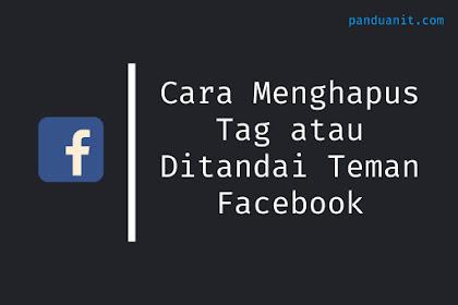 Cara Menghapus Tag atau Ditandai Teman Facebook