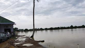 3.000 Hektare Sawah di Karawang Terendam Banjir