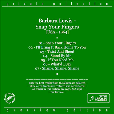 Barbara Lewis - Snap Your Fingers (1964)