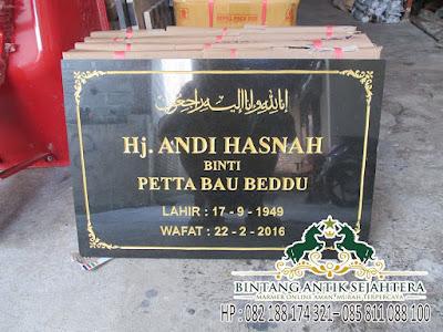 Jual Makam Islam Marmer, Model Makam Islam, Batu Nisan Prasasti