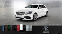 Mercedes A250 2018 màu Trắng Cirrus 650