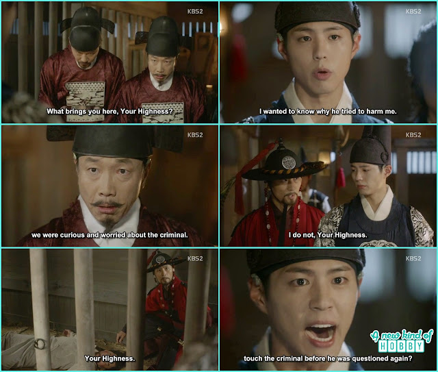 baekwoon chief also died in prison and crown prince think its all chul min doing  - Love In The Moonlight - Episode 15 Review (Eng Sub) - park bo gum & kim you jung