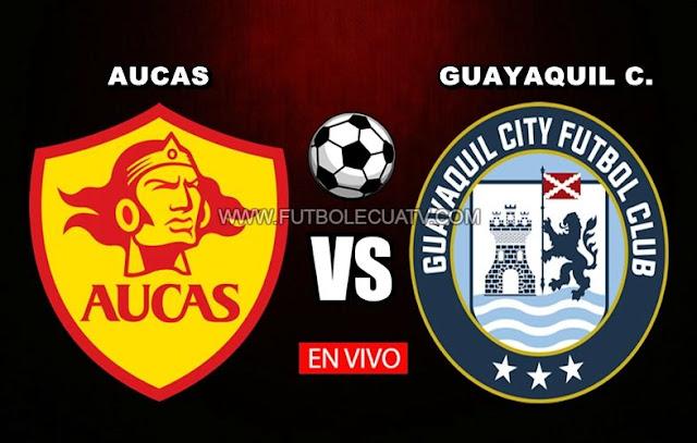 Aucas choca ante Guayaquil City en vivo a partir de las 19h15 horario de nuestro país por el arranque de la fecha veintinueve de la Serie A efectuándose en el campo Gonzalo Pozo Ripalda, siendo el árbitro principal Vinicio Espinel con emisión del canal autorizado GolTV Ecuador.