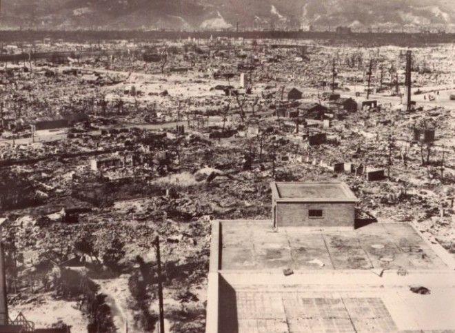 Как Выглядела Хиросима После Сброса Бомбы и Сейчас