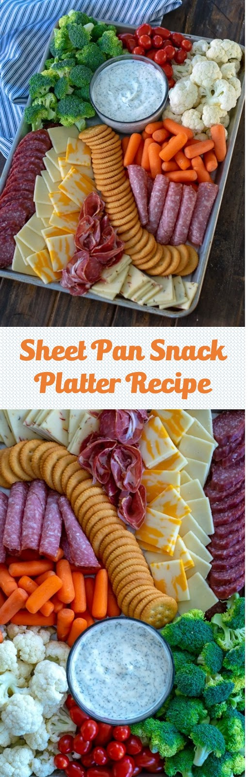 Sheet Pan Snack Platter Recipe