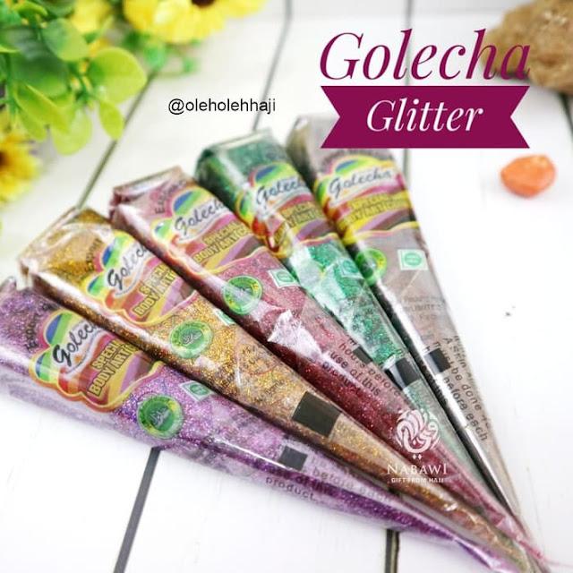 Golecha Glitter, henna,oleh oleh haji dan umroh, perlengkapan haji dan umroh.