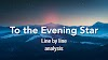 Analysis of To the Evening Star by William Blake