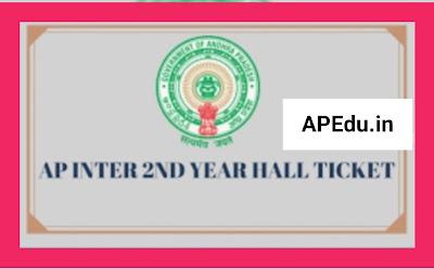 AP Inter Hall Tickets -2021