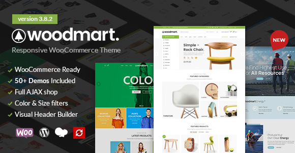 Premium eCommerce WordPress Theme for  create professional e-commerce or drop-shipping website.