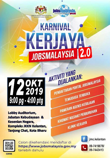 Karnival Kerjaya JobsMalaysia 2.0 Tahun 2019