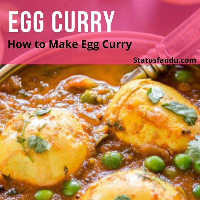 How to Make Egg Curry | Egg Curry Recipe
