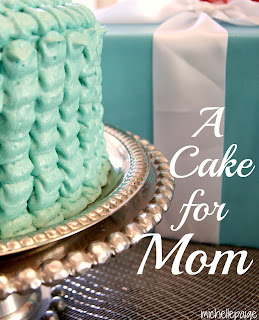 A Ruffle Cake for Mom