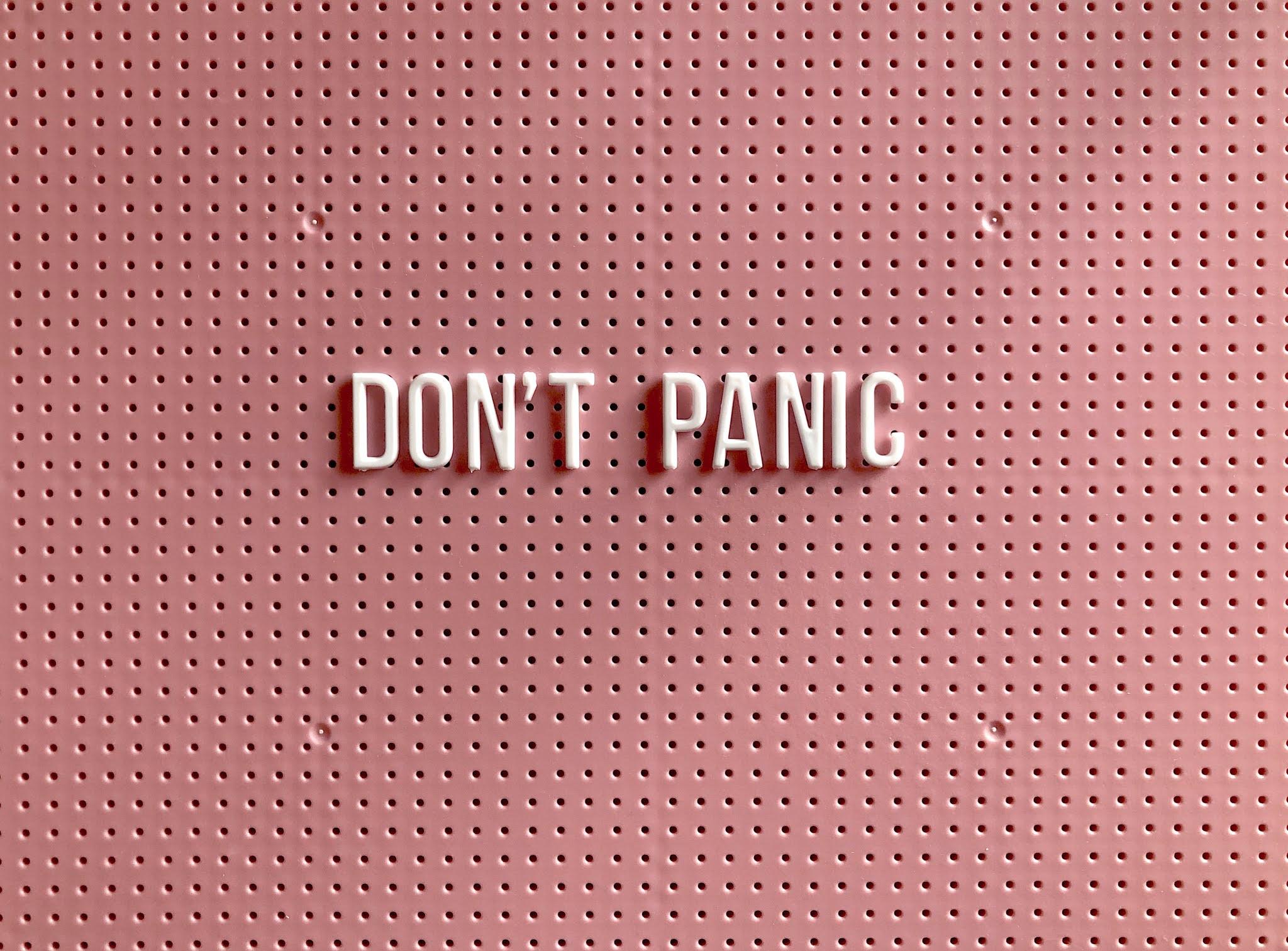 ansiedade pânico medo