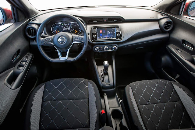 Novo Nissan Kicks 2020 S CVT - interior