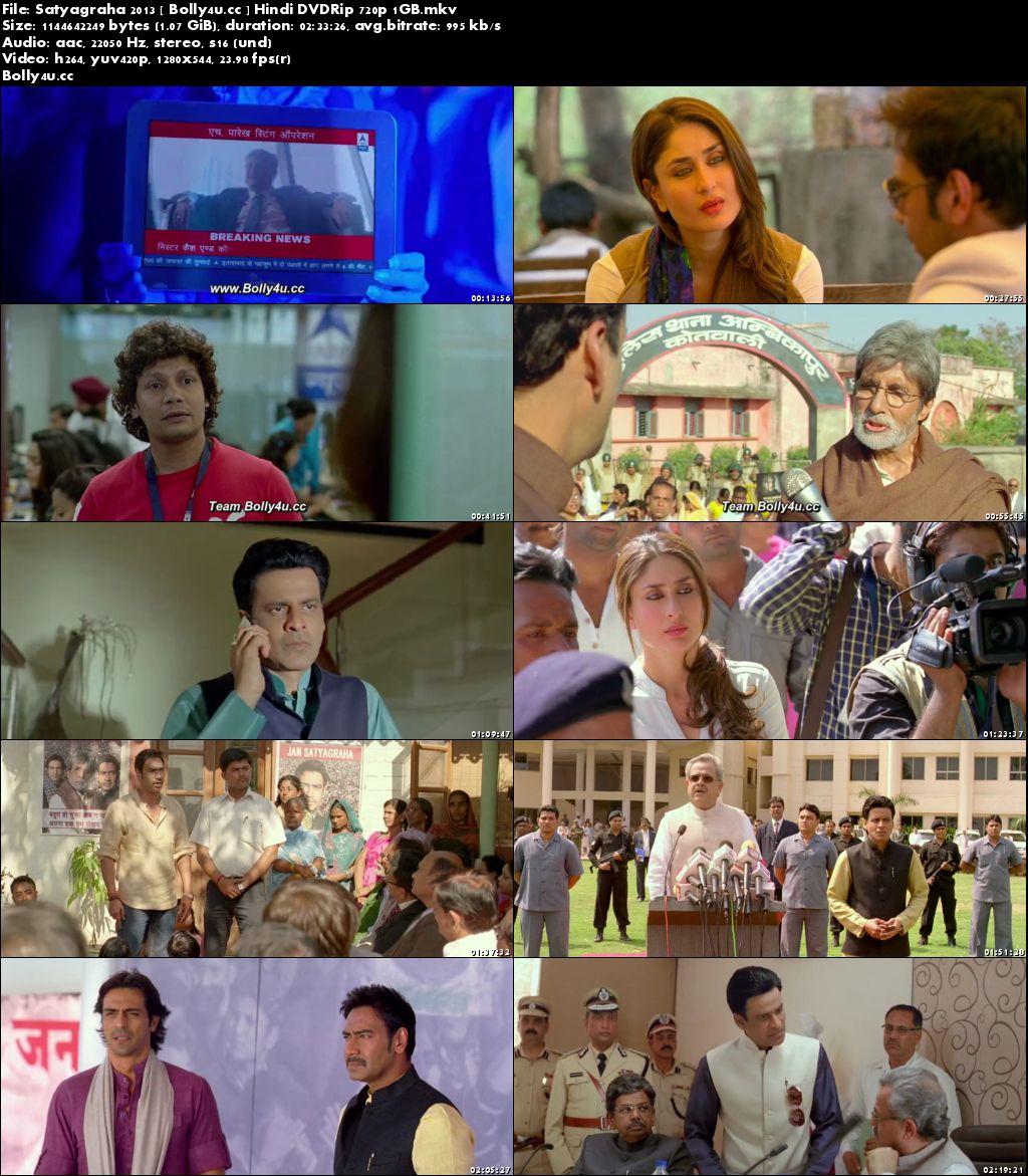Satyagraha 2013 DVDRip 1Gb Full Hindi Movie Download 720p