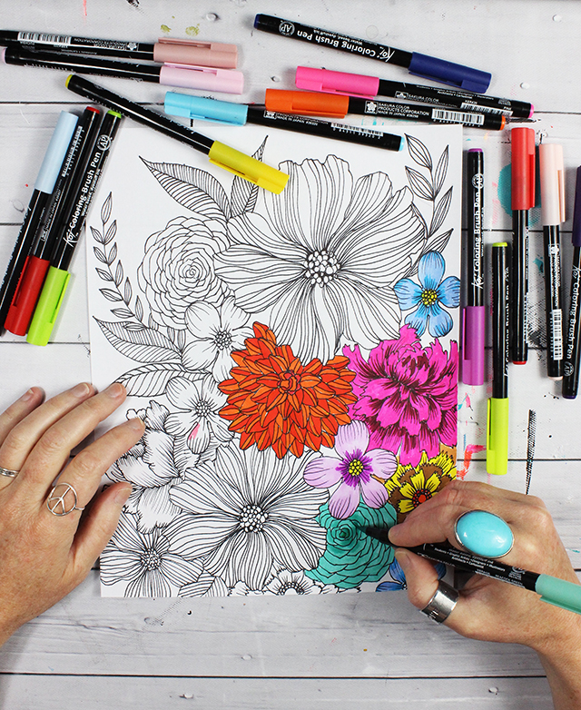 free coloring page download for you