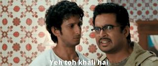 Yeh toh khali hai | 3 idiots meme templates