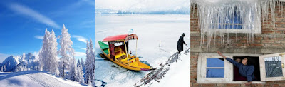 Important tourist places in Kashmir