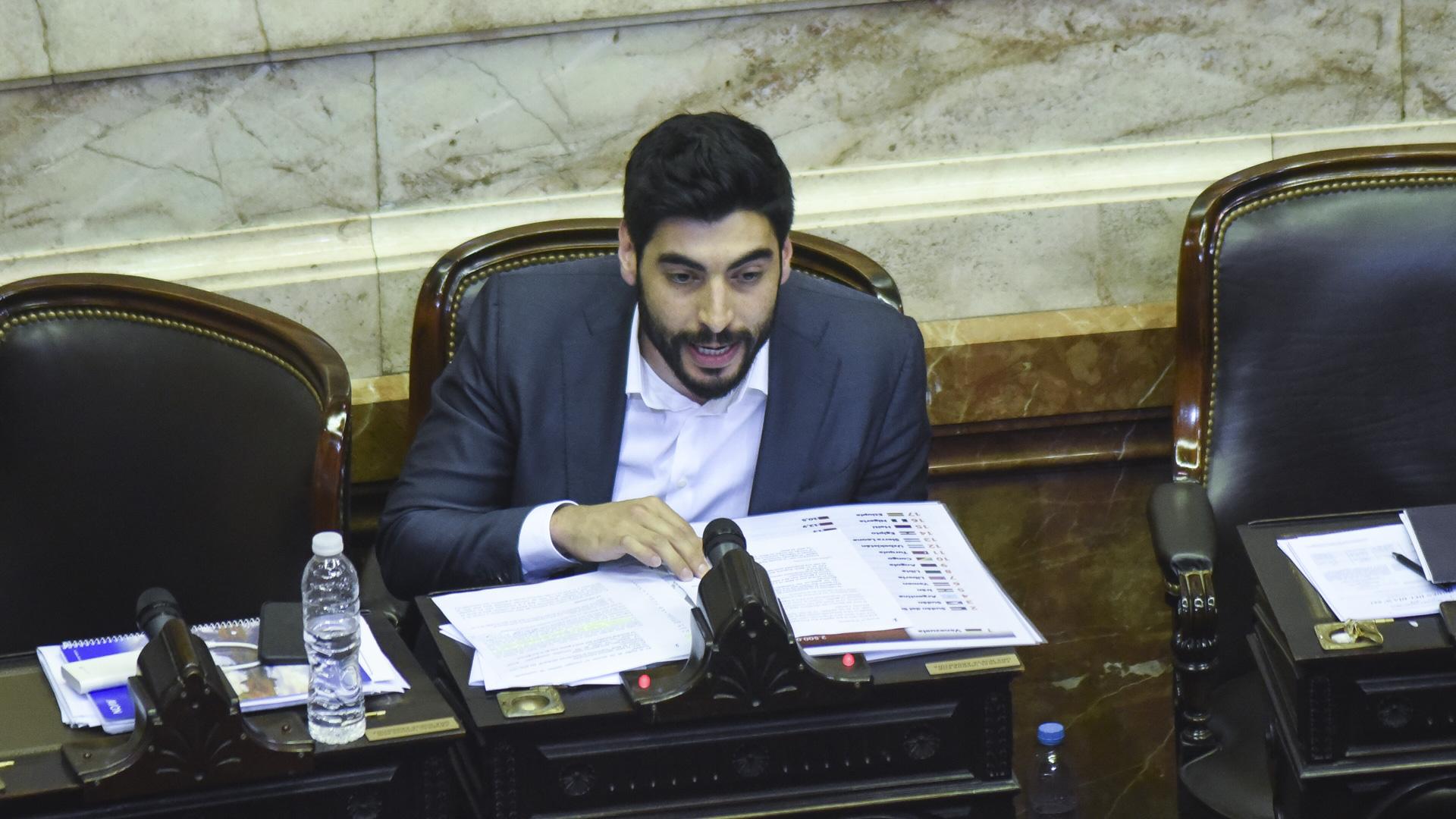 Facundo Moyano renunció a su banca en la Cámara de Diputados y rompió con el Frente de Todos