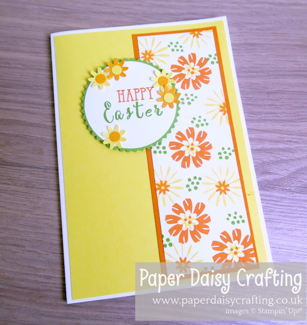 Bloom by Bloom Stampin Up Easter card