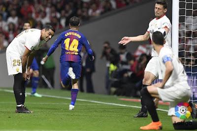 Crónica Sevilla FC 0 - FC Barcelona 5
