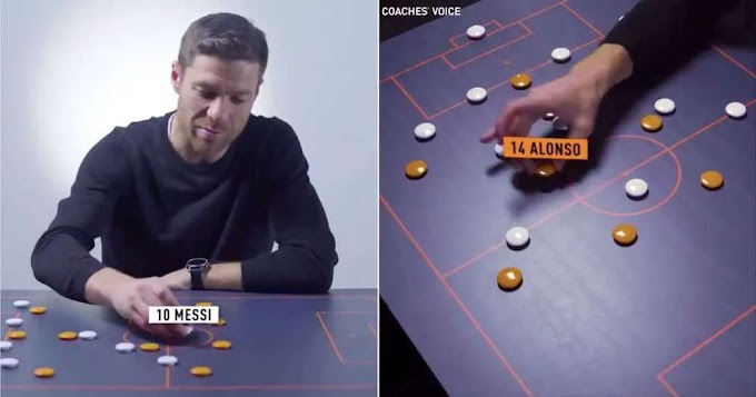 Xabi Alonso: Barcelona usually out smart Madrid with Messi playing in 'false nine' role