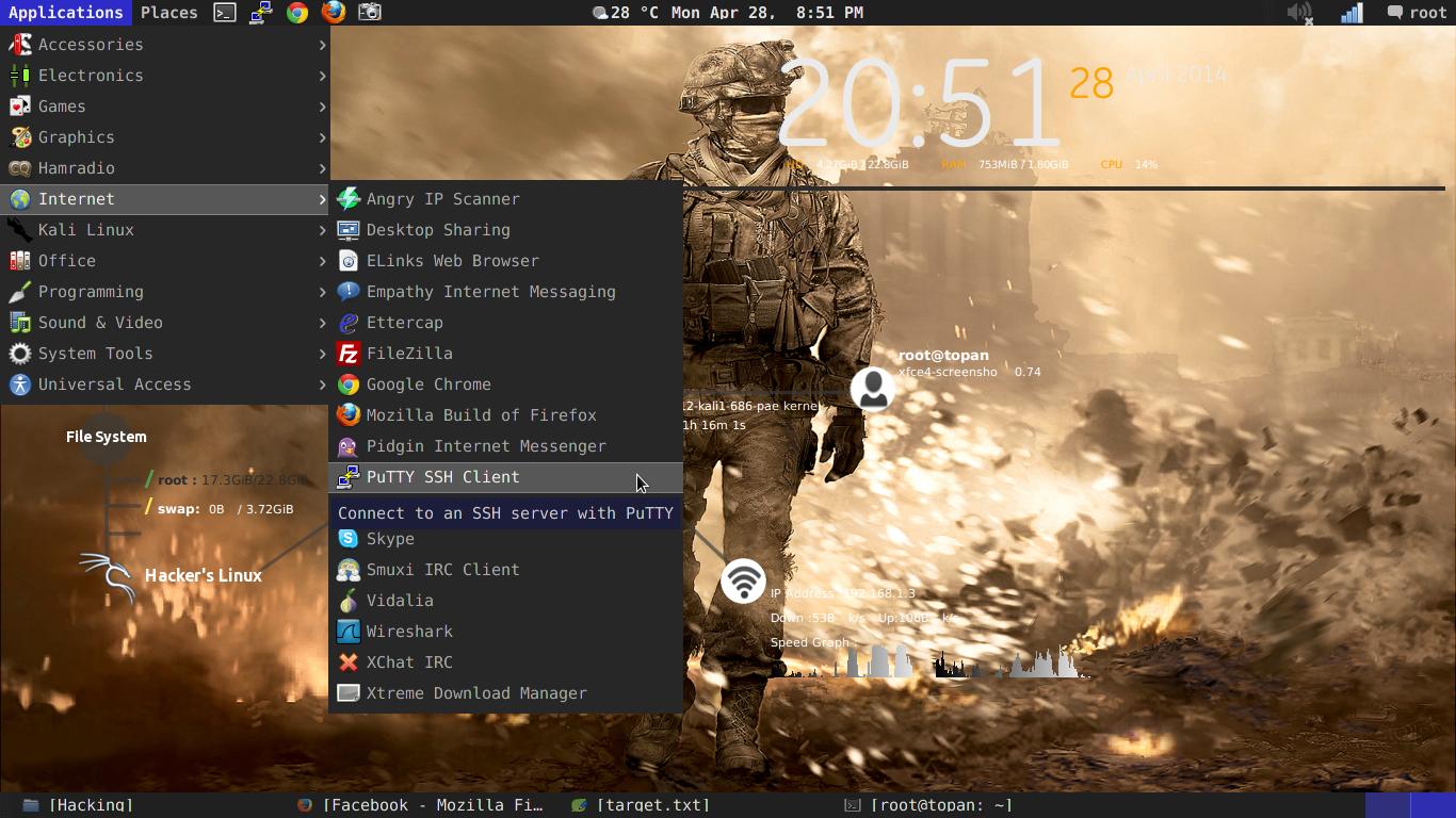 Cara Install Putty Kali Linux