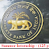 Reserve Bank of India (RBI) Summer Internship (125 posts) - last date 30/10/2019